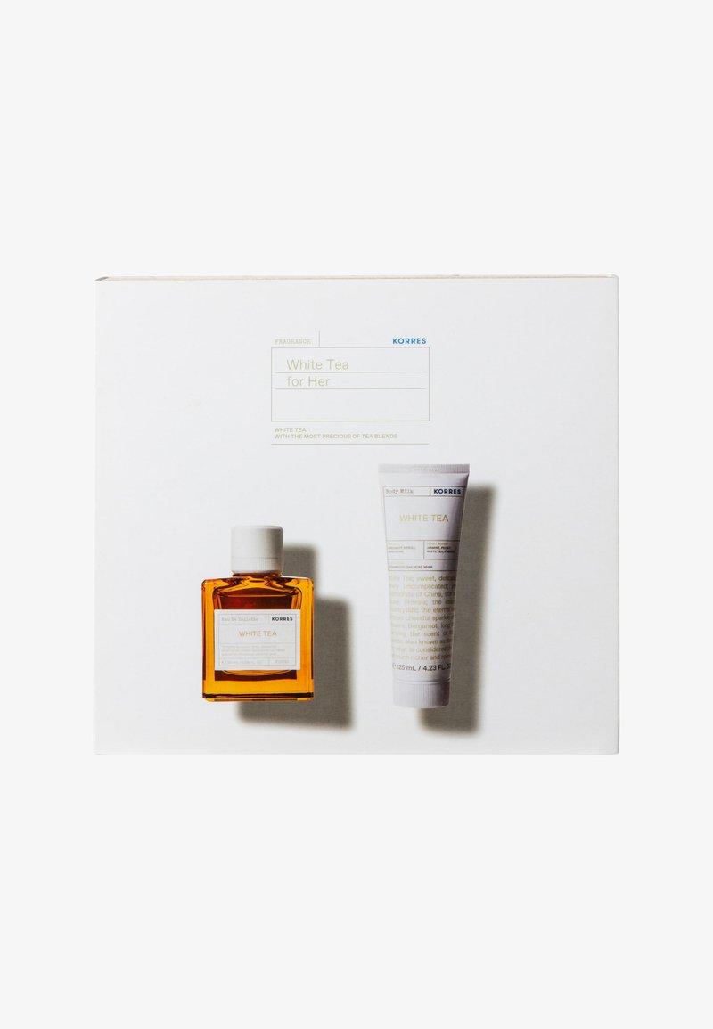 Korres - WHITE TEA EDT SET FOR HER - Fragrance set - -