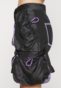 The Ragged Priest - SKIRT GUSSETS - Minihame - black/purple - 4