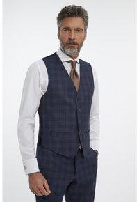 Van Gils - Suit waistcoat - blue - 0