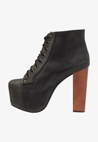 Jeffrey Campbell - Lace-up ankle boots - black - 1