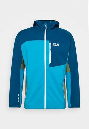 EAGLE PEAK - Soft shell jacket - blue jewel