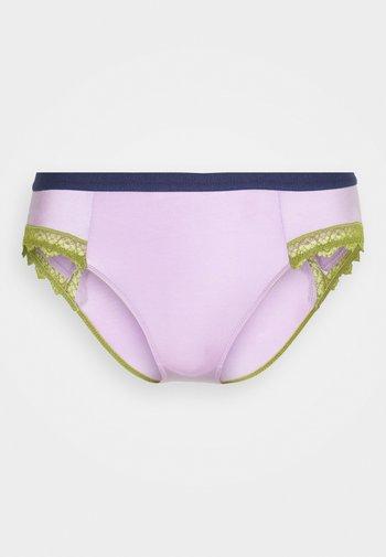 LOW RISE KNICKER - Briefs - light pastel purple