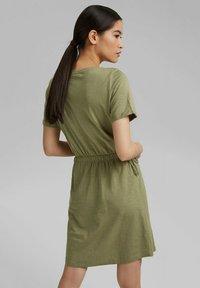 Esprit - Jersey dress - light khaki - 2