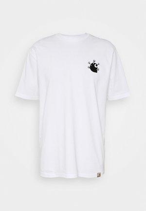 NAILS - T-shirts print - white/black
