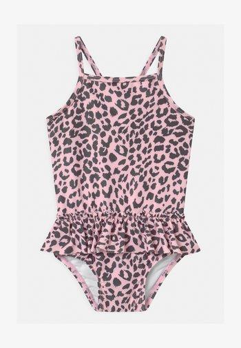 LUCINDA RUFFLE - Swimsuit - pearl pink