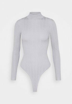 EXTREME HIGH NECK - T-shirt à manches longues - grey
