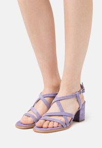 Steven New York - GRACY - Sandals - lila - 0