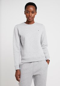 Tommy Hilfiger - HERITAGE CREW NECK  - Sweater - light grey - 0