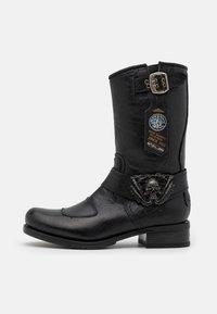 New Rock - UNISEX - Kowbojki i obuwie motocyklowe - black - 0