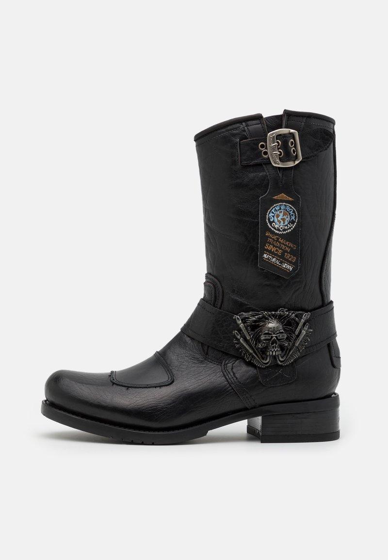 New Rock - UNISEX - Kowbojki i obuwie motocyklowe - black