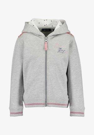 HEARTBEAT - Zip-up hoodie -  nebel