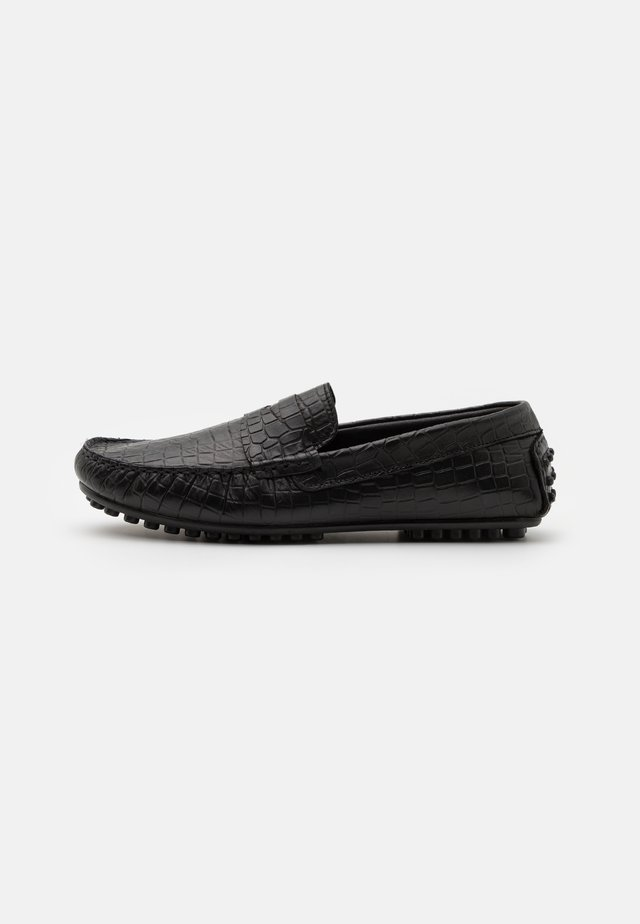 CARVER - Mocassins - black