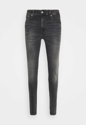 SUPER SKINNY - Jeans Skinny Fit - denim grey