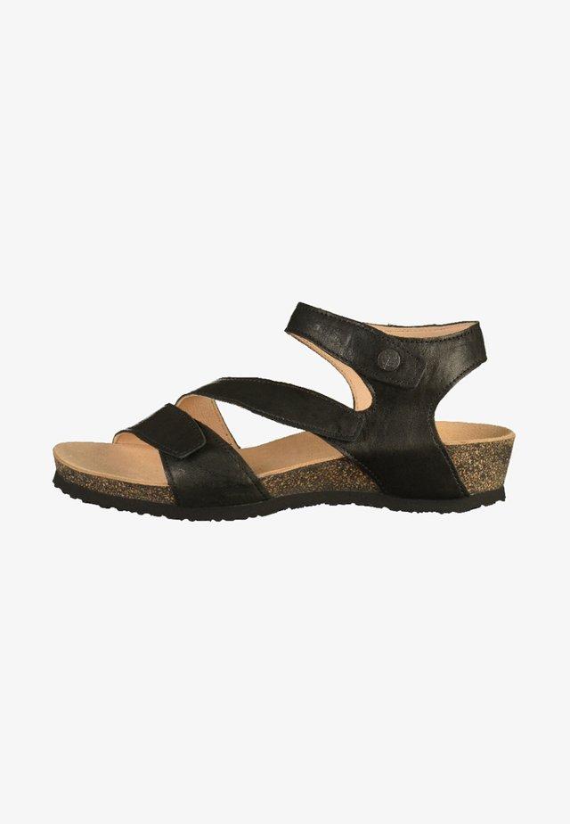 Sandales compensées - black