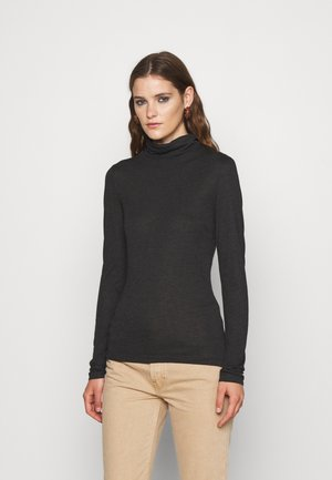HIGHNECK - Long sleeved top - charcoal