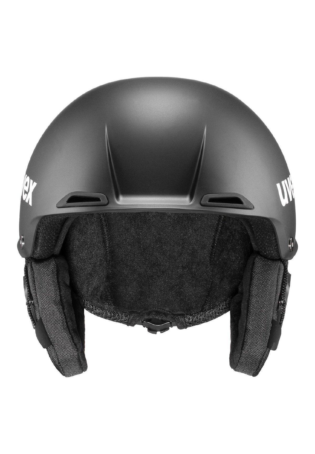 Herren Helm - black mat