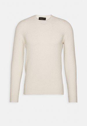 GIROCOLLO - Pullover - bianco