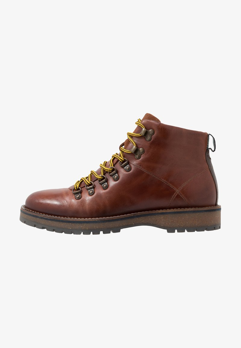 Shoe The Bear - LAWRENCE - Lace-up ankle boots - tan