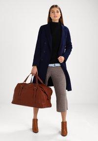 Anna Field - Weekend bag - cognac - 0