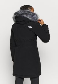 The North Face - W ARCTIC PARKA - Down coat - black - 2
