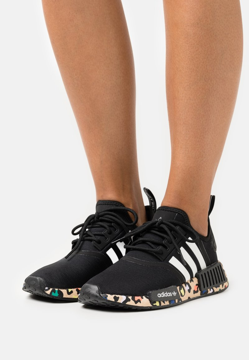 adidas Originals - NMD_R1  - Trainers - core black/footwear white/pale nude
