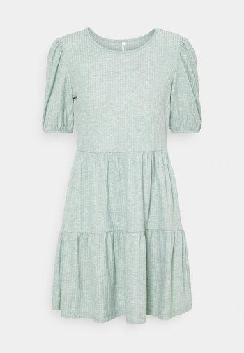 ONLNELLA SHORT DRESS  - Day dress - chinois green