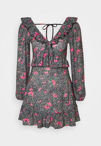 Topshop - DOUBLE TEA DRESS - Vestido informal - multi - 3