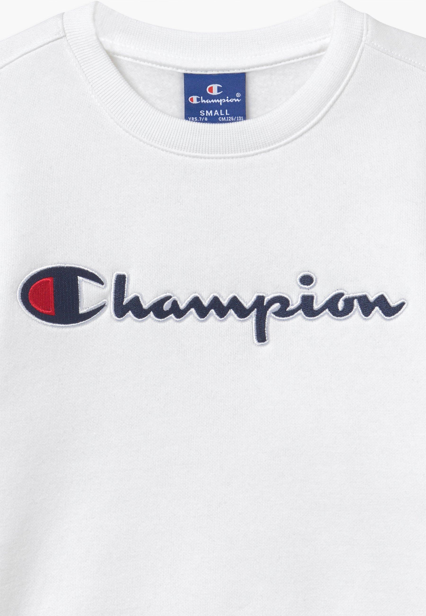 Champion ROCHESTER CREWNECK Sweatshirt whiteweiß