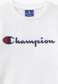 Champion - ROCHESTER CHAMPION LOGO CREWNECK - Sweater - white - 3