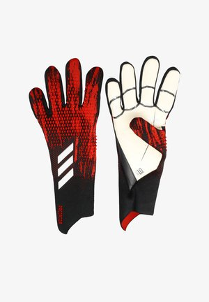 Goalkeeping gloves - schwarzrot