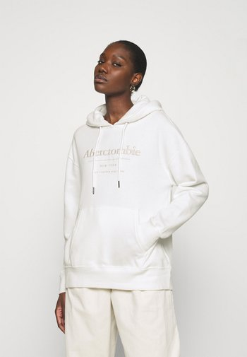 LOGO POPOVER - Sweatshirt - white
