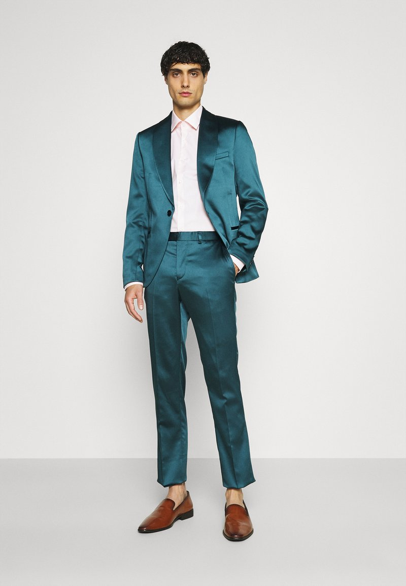 Twisted Tailor - DRACO SUIT - Kostym - bottle green
