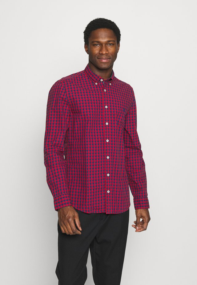 BUTTON DOWN LONG SLEEVE INSERTED - Camisa - multi