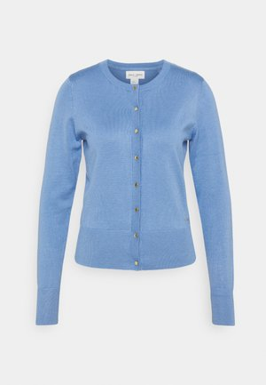 CARDIGAN ANNA - Strickjacke - dusty blue