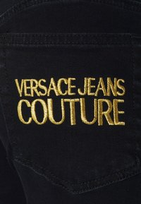 Versace Jeans Couture - Jeans Skinny Fit - black denim - 9
