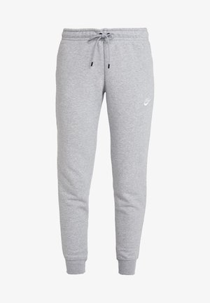 Tracksuit bottoms - dark grey heather/white