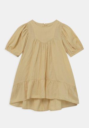 MINI DRESS WITH FLOUNCE MINI ME - Day dress - light yellow