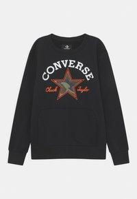 Converse - UTILITY CREW - Sweatshirt - black - 0