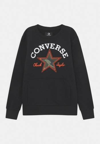 UTILITY CREW - Sweatshirt - black