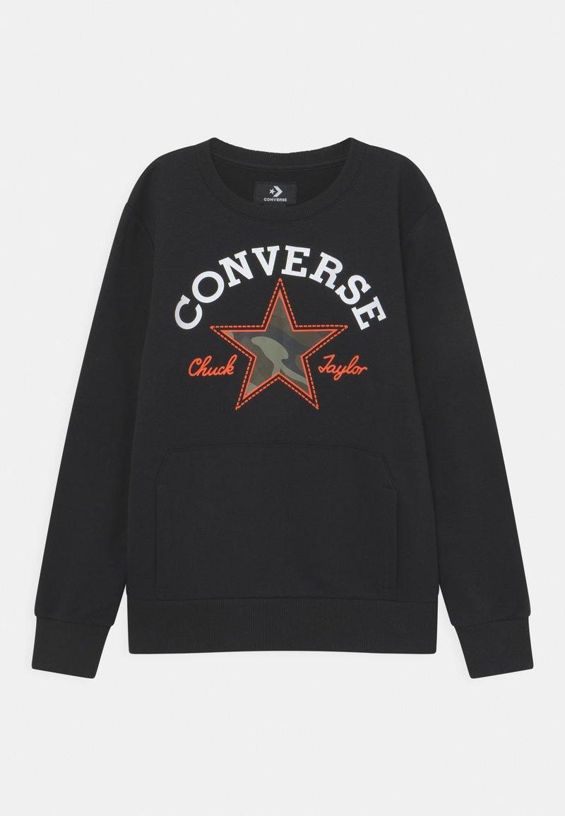 Converse - UTILITY CREW - Sweatshirt - black