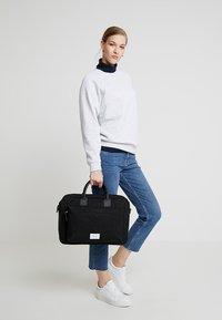Sandqvist - EMIL - Laptop bag - black - 5