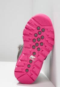 Sorel - WHITNEY VELCRO - Talvisaappaat - quarry/ultra pink - 4