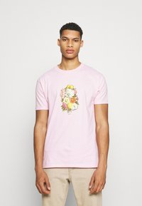 Obey Clothing - EARTH PROPAGANDIST - T-Shirt print - pink - 0