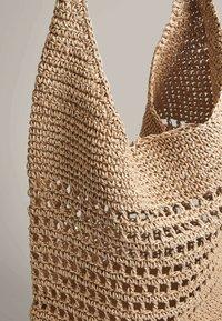 OYSHO - OPENWORK - Handbag - beige - 4