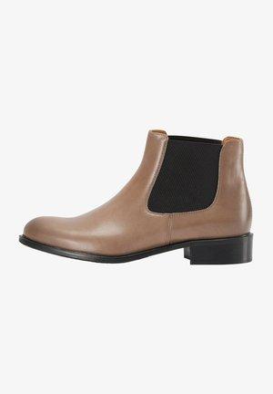 Korte laarzen - taupe