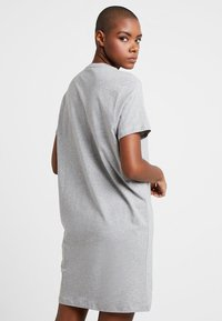 Tommy Hilfiger - ORIGINAL DRESS HALF SLEEVE - Nightie - grey heather - 2