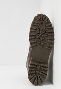 Salamander - HARROLD - Lace-up ankle boots - cognac - 4
