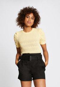Morgan - Print T-shirt - yellow - 0