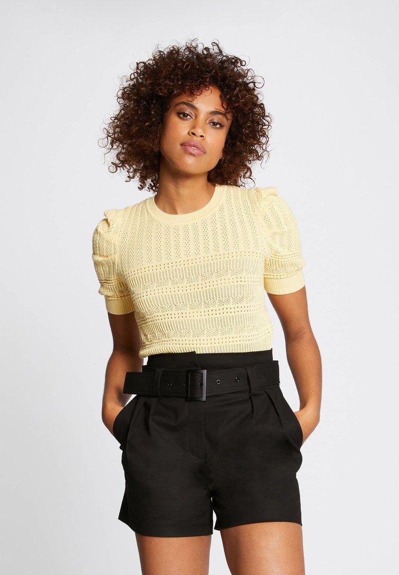 Morgan - Print T-shirt - yellow