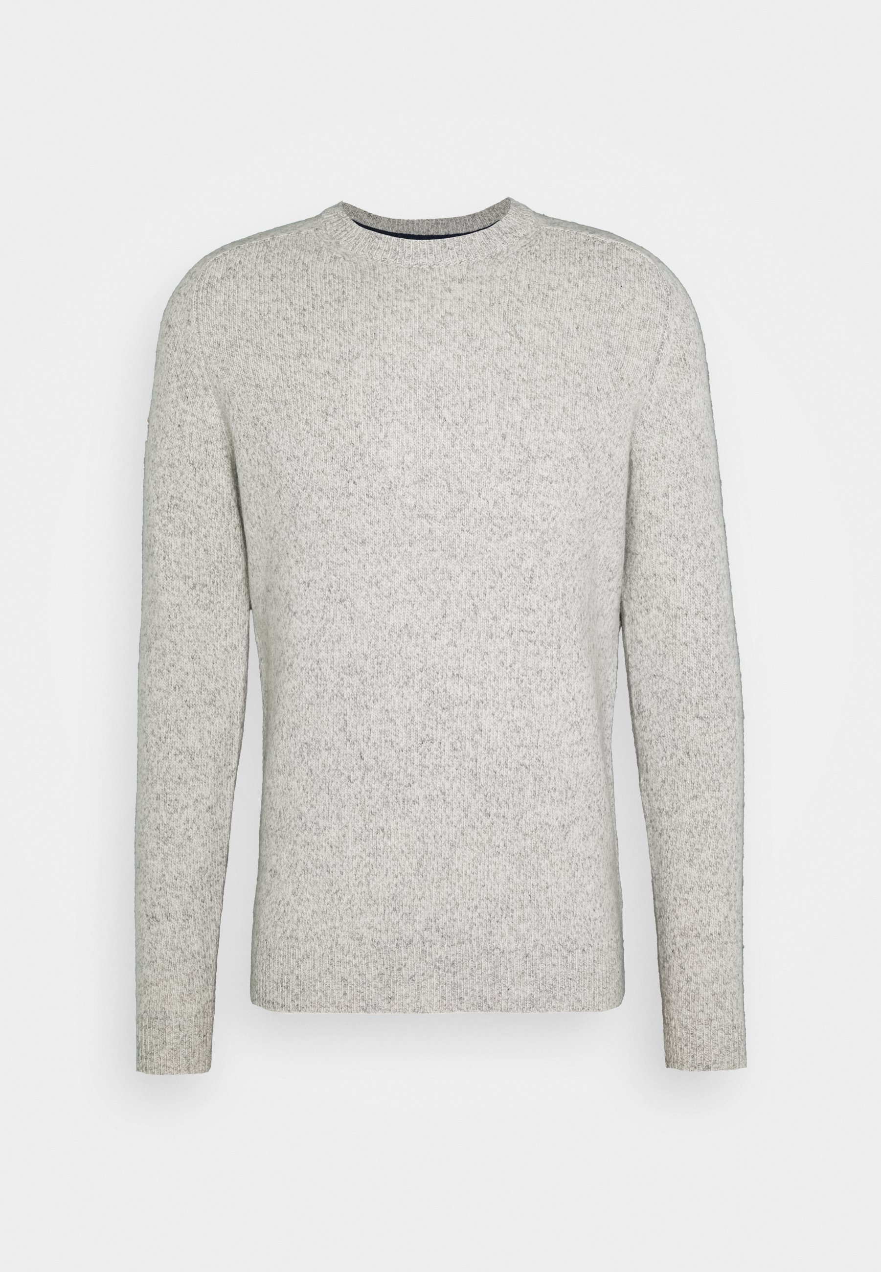 HARLO Stickad tröja oil grey twist
